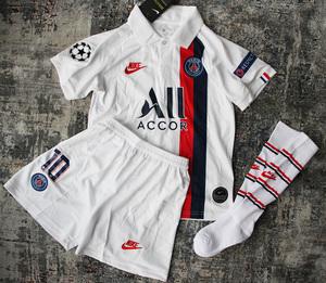 Dziecięcy zestaw piłkarski PSG away 19/20 NIKE (koszulka+spodenki+getry) #10 NEYMAR JR.