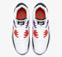 Buty męskie Nike Air Max 90 Essential White/Red Orbit-Psychic Purple AJ1285-106