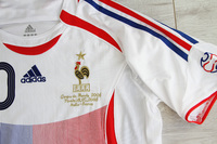 Koszulka piłkarska FRANCJA Retro FINAL World Cup 2006 Adidas #10 ZIDANE