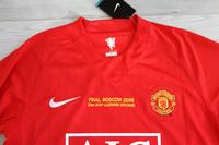 Koszulka piłkarska MANCHESTER UNITED Retro FINAL MOSCOW 2008 Nike #7 Ronaldo