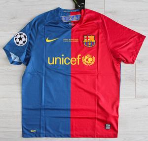 Koszulka piłkarska FC BARCELONA Retro FINAL ROMA 2009 Nike #10 Messi