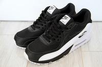 Buty męskie Nike Air Max 90 537384-082 Black/White