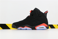 "Buty damskie Nike Air Jordan 6 ""Black Infrared"" 384664-060"