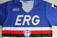 Koszulka piłkarska SAMPDORIA GENUA Retro 1990/91 ASICS #10 Mancini