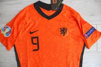 Koszulka piłkarska HOLANDIA NIKE VaporKnit Home Euro 2020, #9 Kluivert