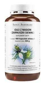Olej z nasion czarnuszki siewnej 500 mg - 400 kaps.